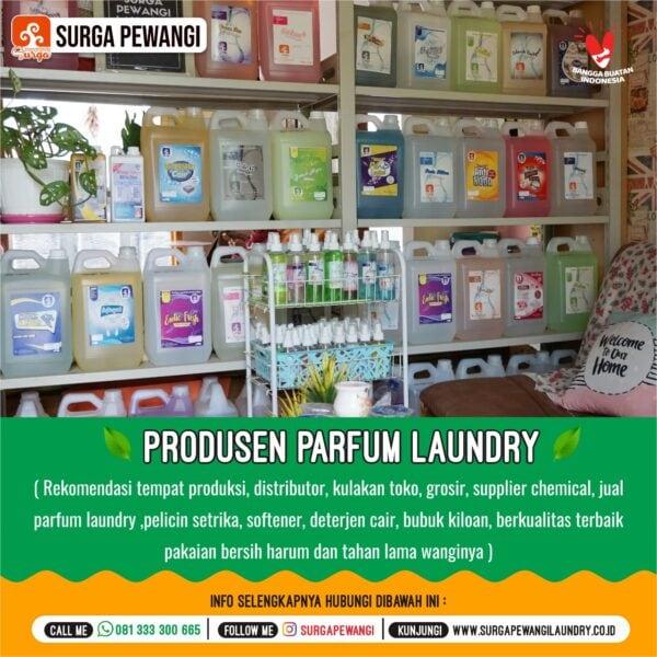 Produsen Pewangi Laundry Yogyakarta