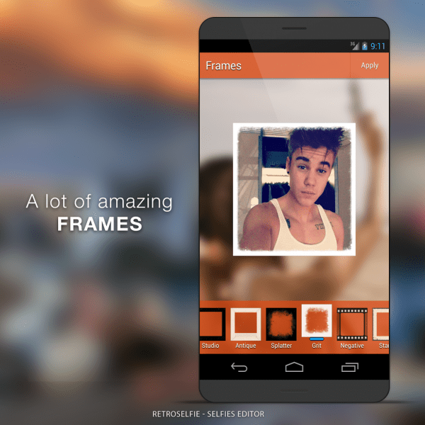 Best Android apps for taking selfies.