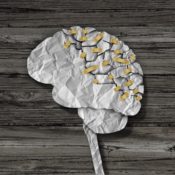 Concepto de rehabilitación cerebral