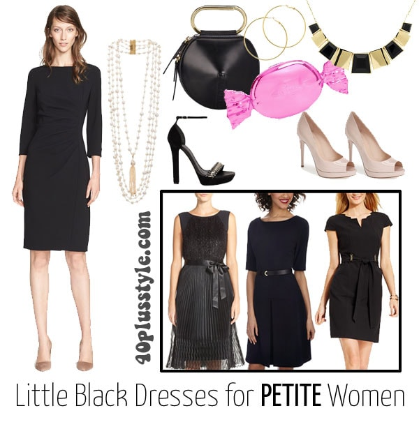 How to find the perfect little black dress - petite-LBD | 40plusstyle.com