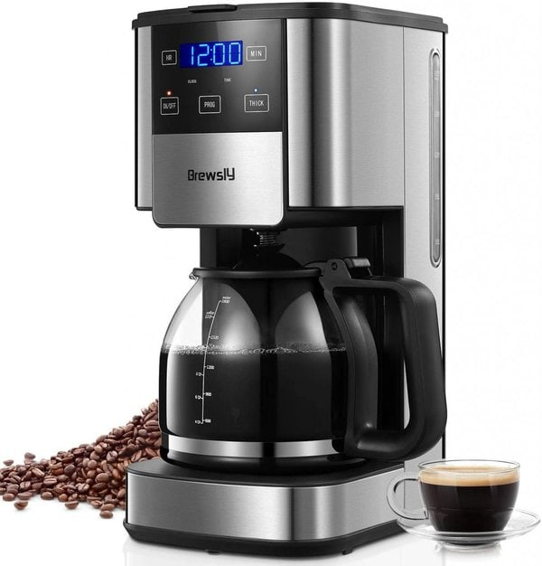 Brewsly 12-Cup Coffee Maker