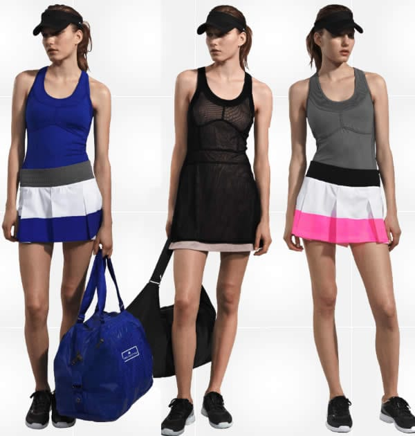 tennis clothes for women by stella mccartney