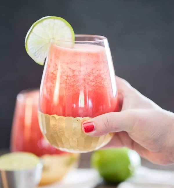 tequila watermelon aqua fresca cheersing