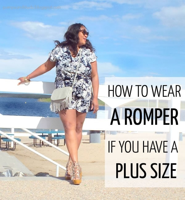 How to wear a romper if you have a plus size | 40plusstyle.com
