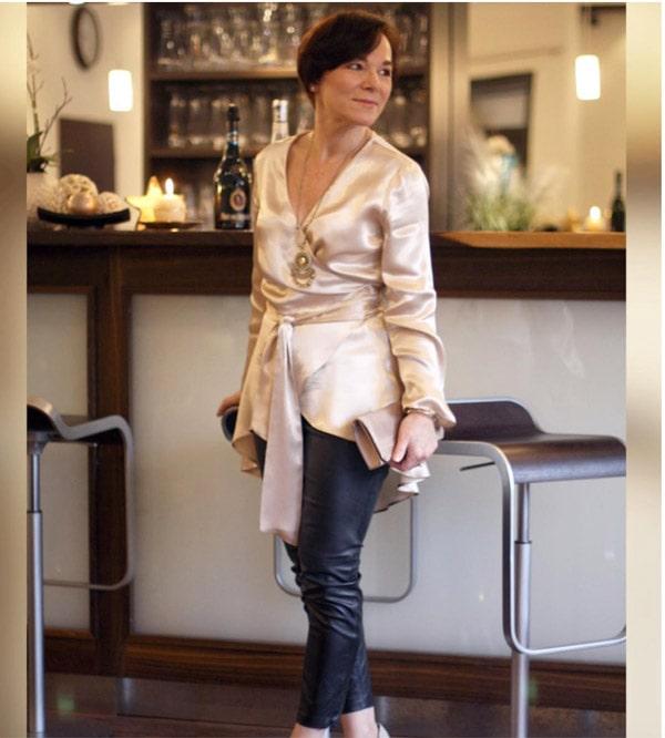 Silk tunic | 40plusstyle.com