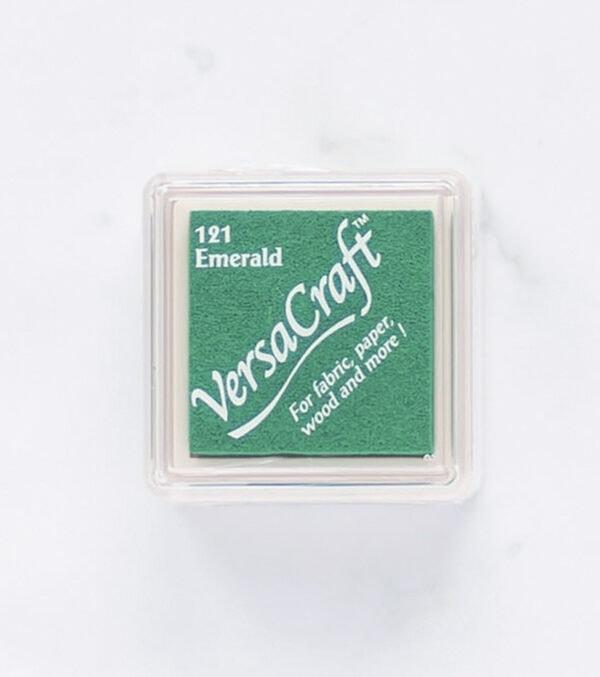 tinta-versacraft-mini-emerald-esmeralda-materiales-carvado-sellos-ana-sola