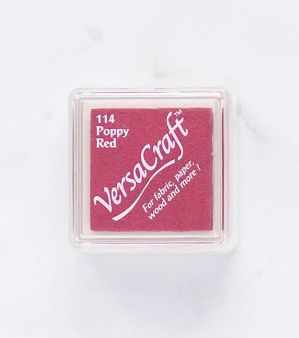 tinta-versacraft-mini-poppy-red-rojo-amapola-materiales-carvado-sellos-ana-sola