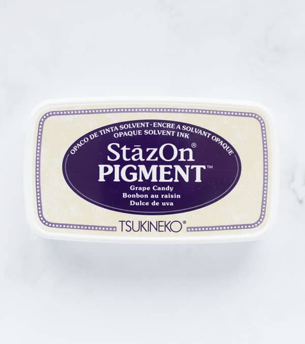 tinta-stazOn-pigment-grape-candy-dulce-de-uva-materiales-carvado-sellos-ana-sola