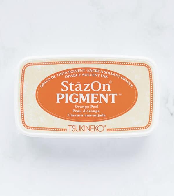 tinta-stazOn-pigment-orange-peel-cascara-anaranjada-materiales-carvado-sellos-ana-sola