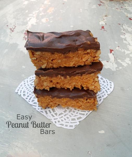Easy PB Cornflakes Bars