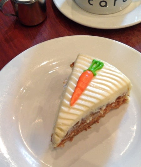 JOMA Cafe's Carrot Cake