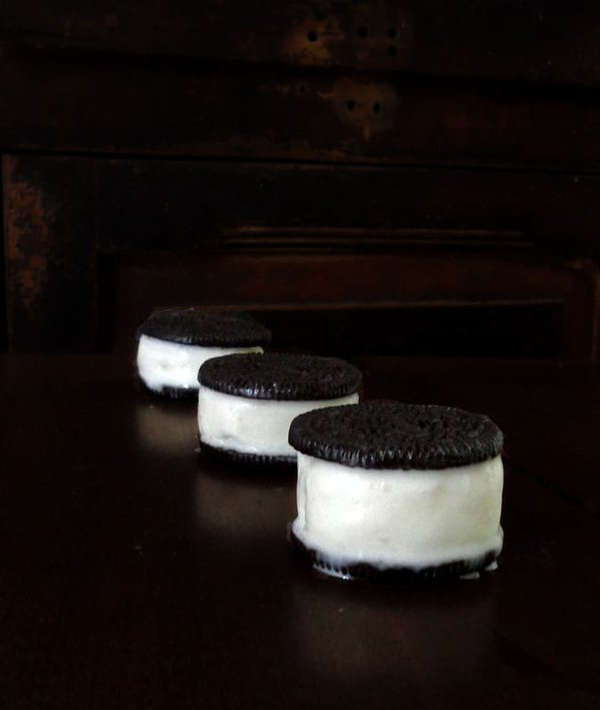 Three Ice Cream Sandwiches