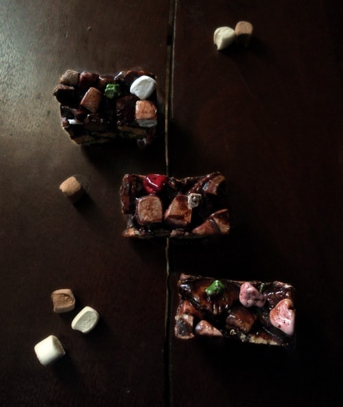Rocky Road Bar Slices
