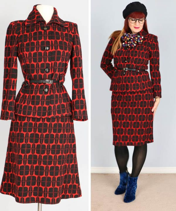 Stylish vintage prints | 40plusstyle.com