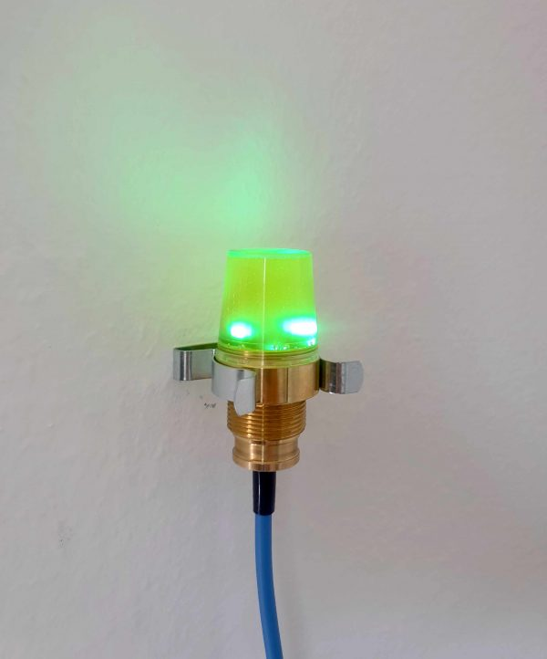 Eigensichere Signalleuchte DKL01 - Grün für EX I und EX II