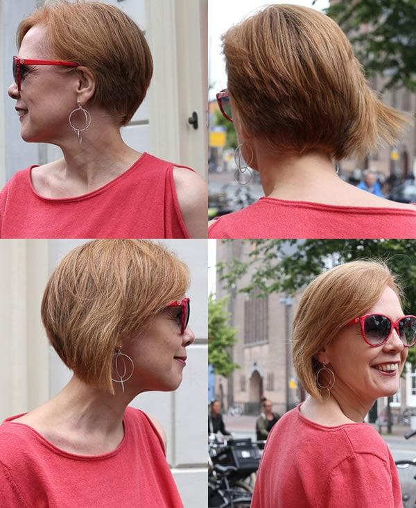 Haircut ideas: A stylish asymmetrical haircut for women | 40plusstyle.com
