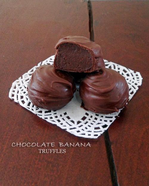 Banana Chocolate Truffles