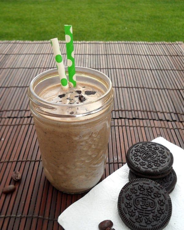 Oreo Milkshake with Coffee