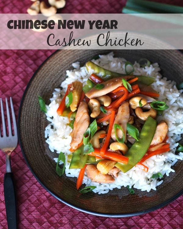 Chinese New Year Cashew Chicken