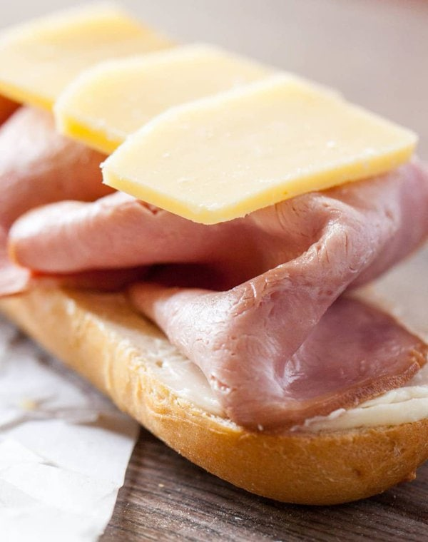 French Ham and Cheese Sandwich