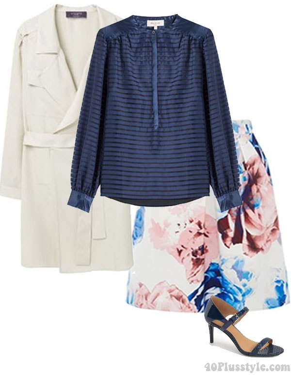 Morning to night outfit | 40plusstyle.com