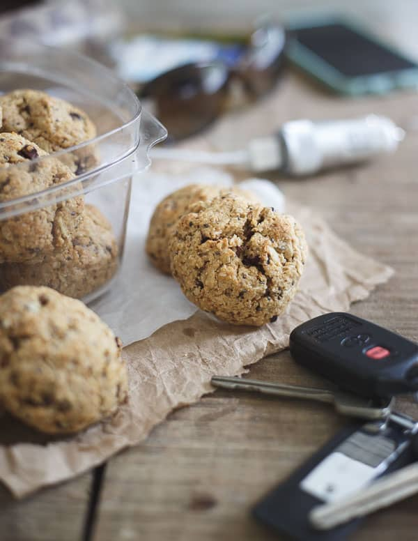Healthy Road Trip Cookies
