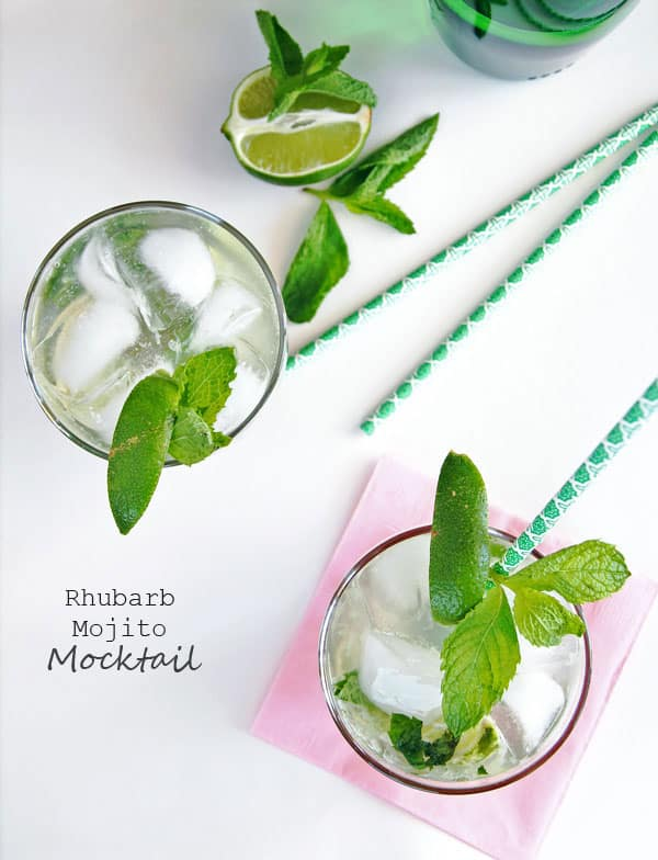 Rhubarb Mocktail