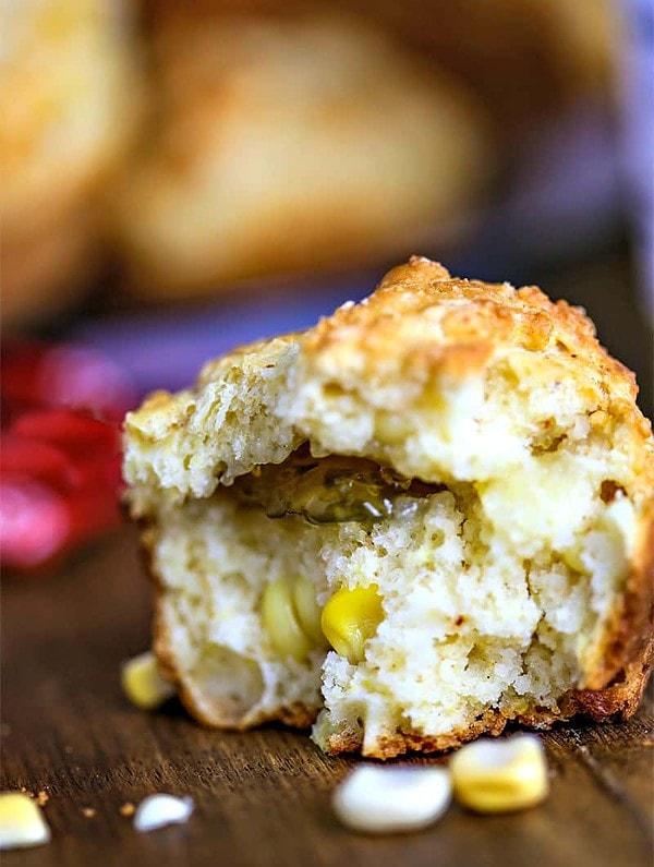 Jalapeno Corn Muffins   Life, Love, and Good Food
