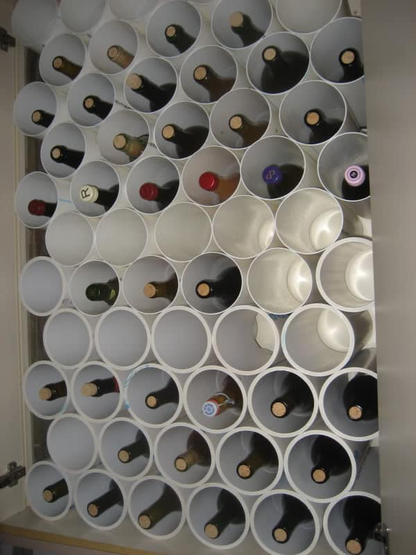 wine rack plans from pvc