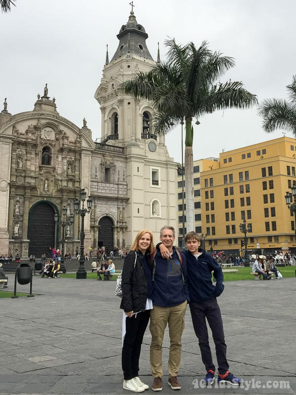 Traveling in Peru with family | 40plusstyle.com