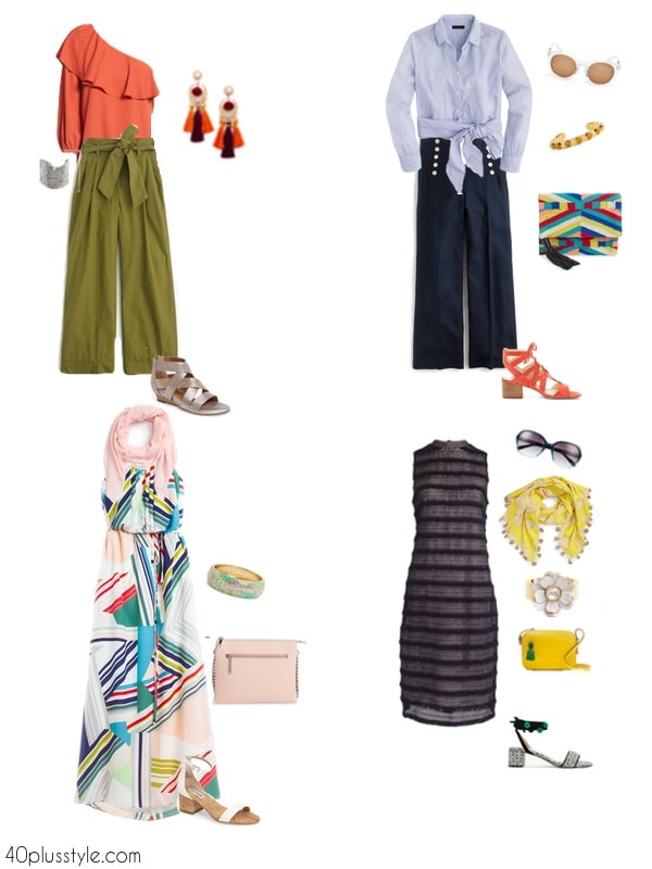 What to wear to an outdoor wedding | 40plusstyle.com
