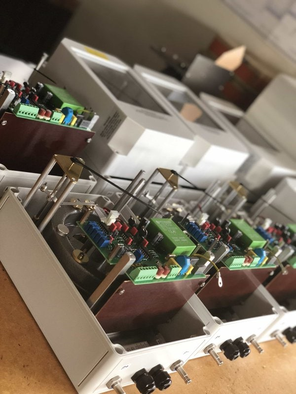 Rixen Differenzdruckmessgeräte für sehr kleine Drücke