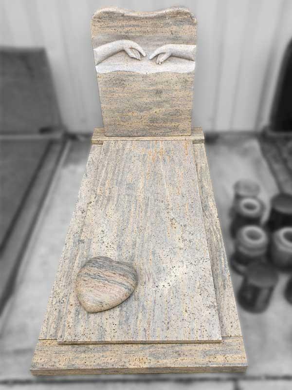 Aanbieding grafsteen Yellow