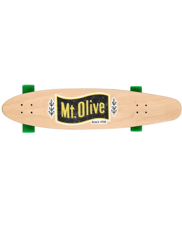 Mt Olive Skateboard view from above