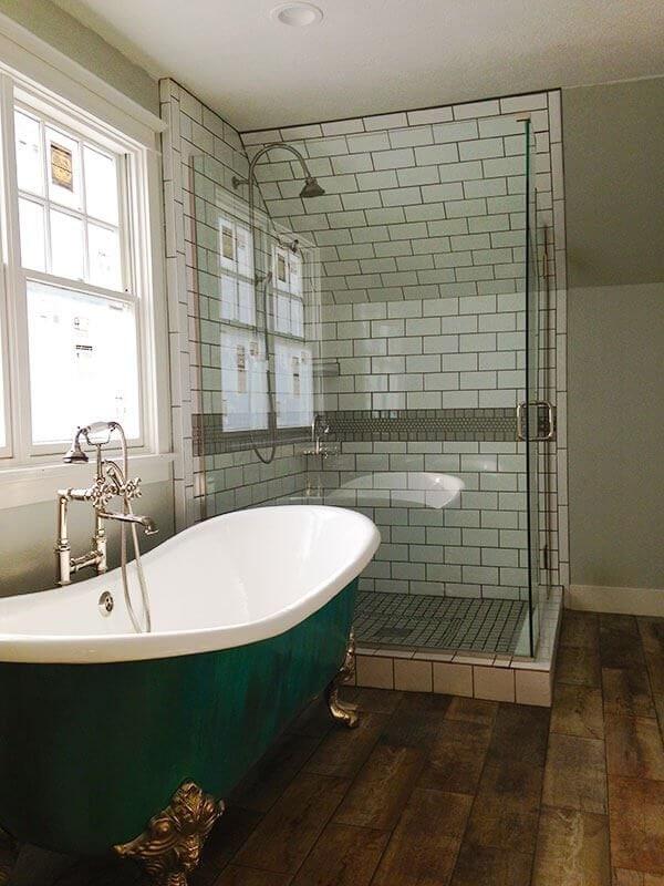 Denver Bathroom Remodel Claw foot tub