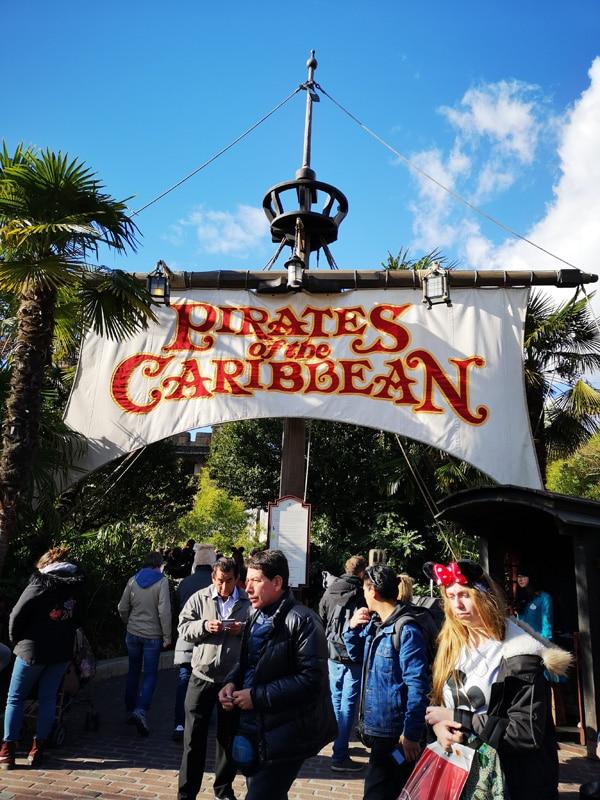 Pirates of the Caribbean - Disneyland Paris