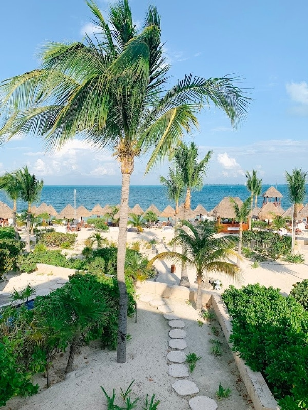 beach view mexico