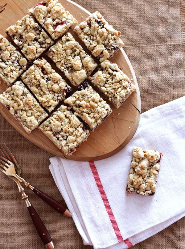 German Plum Cake with Crumble