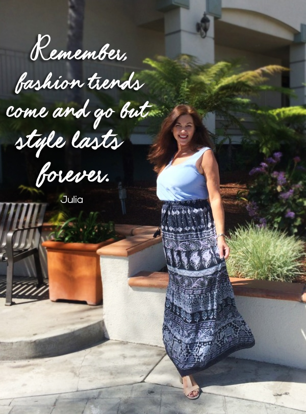 The Velvet Runway style quote | 40plusstyle.com
