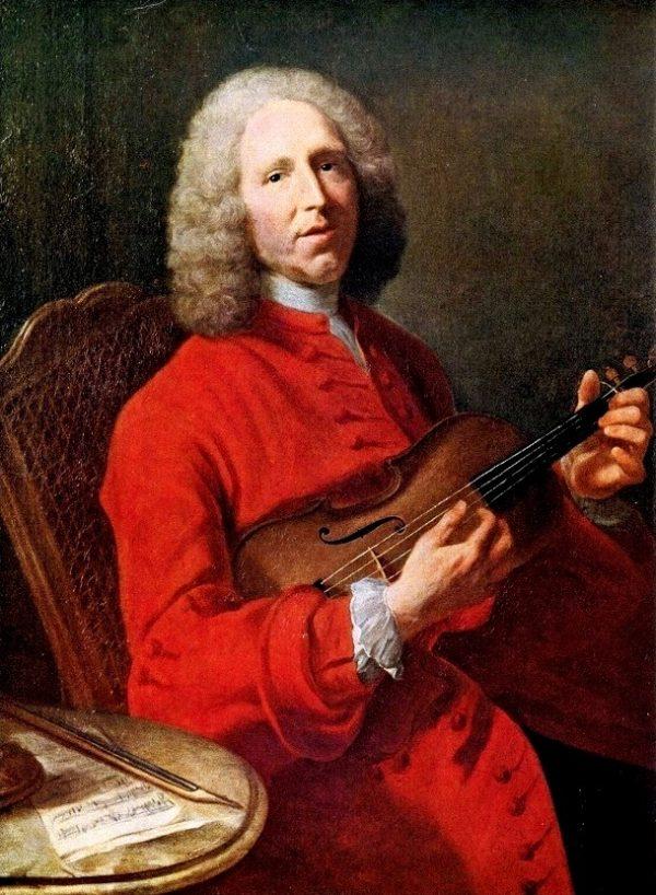 """""""Rigaudon"""" Jean-Philippe Rameau (1683-1764). Ригодон (Ж.Ф. Рамо). Ноты С ЦИФРАМИ для гармони хромки."""