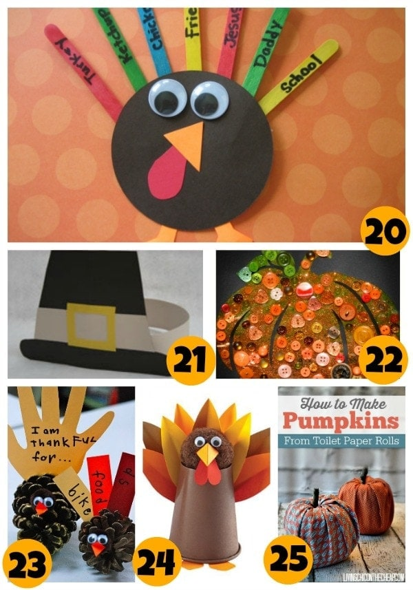 asy Thanksgiving Crafts for Kids
