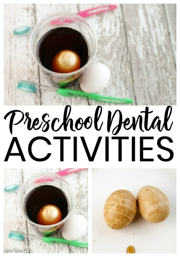Preschool Dental Activities