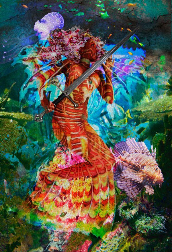 Title: Mermaid Kianda – Artist: Henrique Vieira Filho