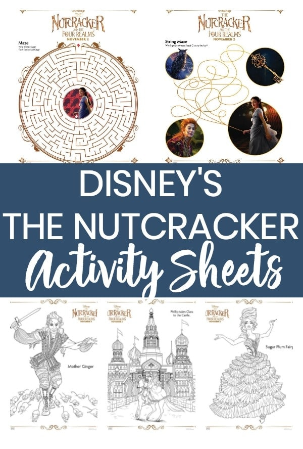 Disney's The Nutcracker Coloring Pages