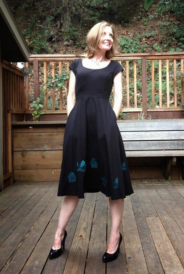 little black dress | 40plusstyle.com