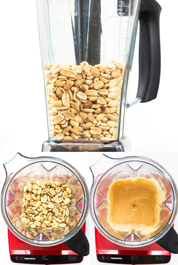 Making Peanut Butter in a Vitamix Blender