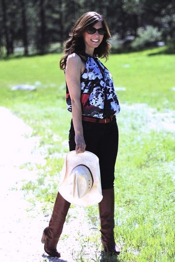 Favorite look of Ana form her Mrs. American Made blog #6 | 40plusstyle.com
