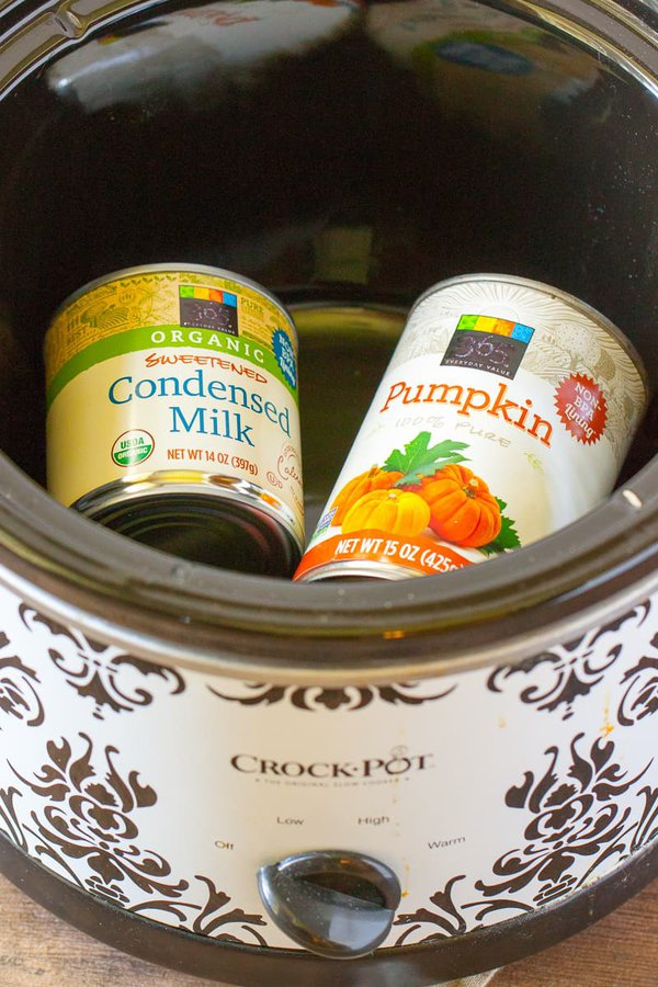 slow cooker drinkable pumpkin pie