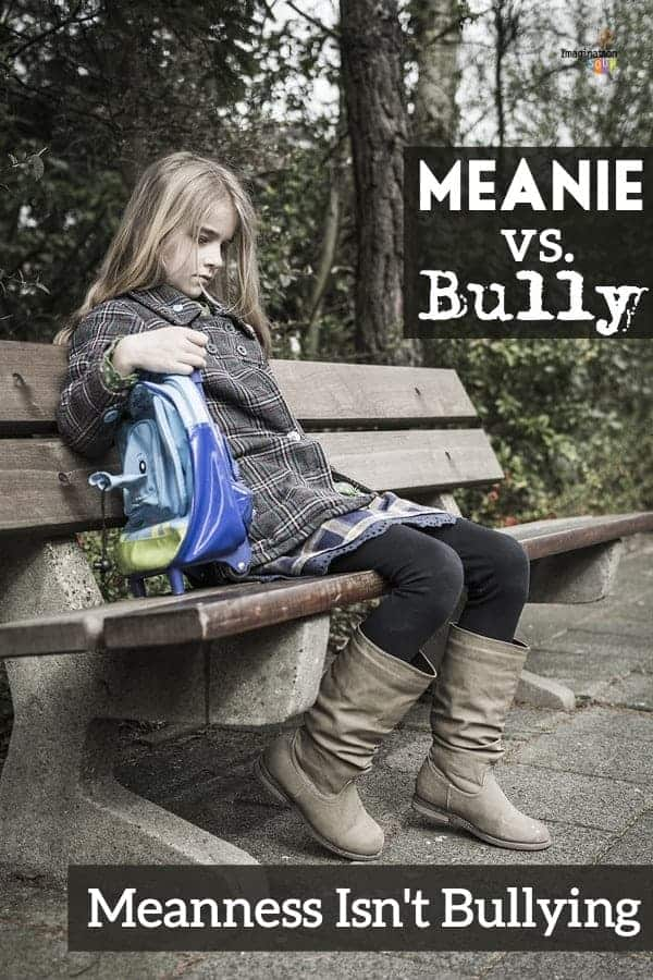 meanie or bully - what is bullying