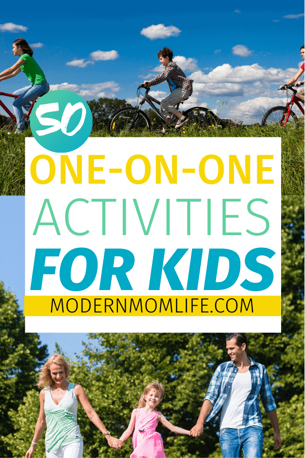 50 one on one activities for kids